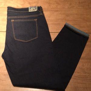 JCrew Crop or Petite Length Dark Jeans
